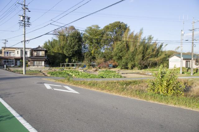 ④.消防車庫を通過後すぐの交差点を右折