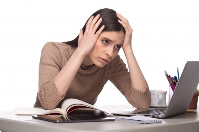 ストレスで自律神経失調症になった女性
