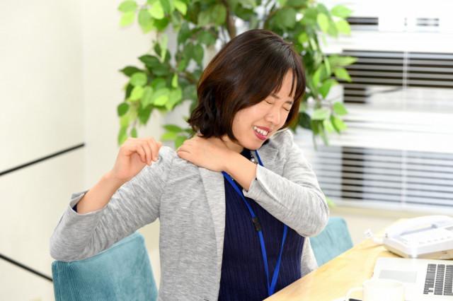 五十肩(四十肩)腕が上がらない女性