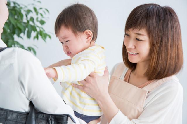 保育園に預けられる赤ちゃん