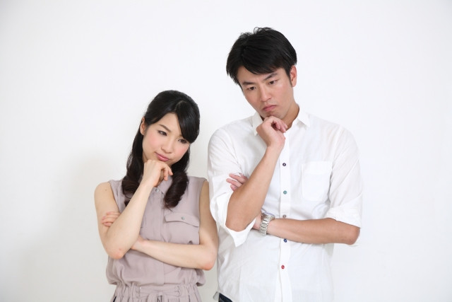 不妊症で悩む夫婦